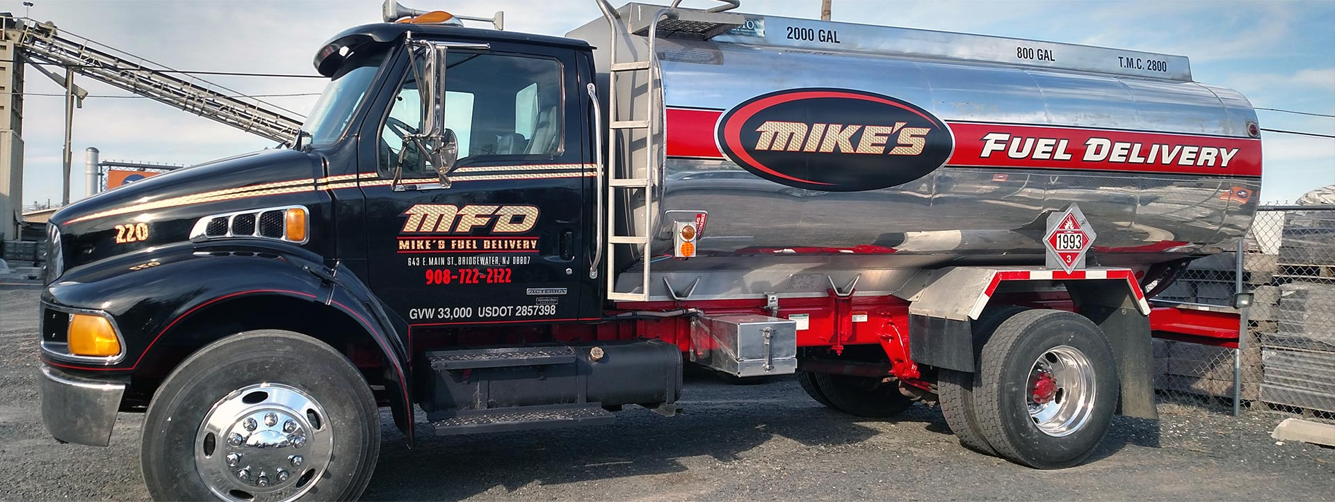 Mike's Fuel Delivery Inc. offers 24/7 emergency fuel delivery services as well as scheduled fuel deliveries to ensure your business is performing optimally.